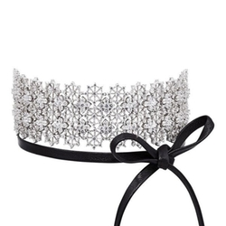 Chantilly Lace Single Wrap Choker by Fallon in Keeping Up With The Kardashians