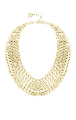 Chain Bib Necklace by BCBGmaxazria in The Huntsman: Winter's War