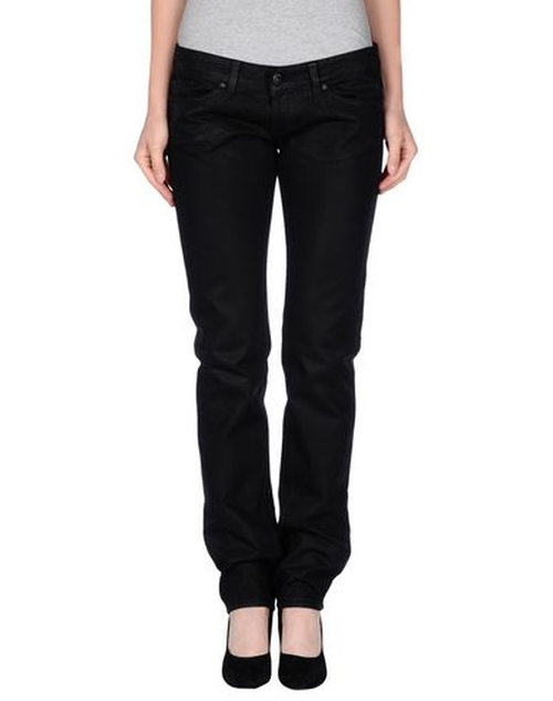 Denim Pants by Dondup Standart in Pretty Little Liars - Season 6 Episode 4