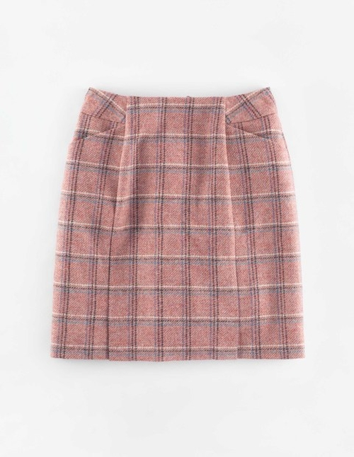 British Tweed Mini Skirt by Boden in Supergirl - Season 1 Episode 11