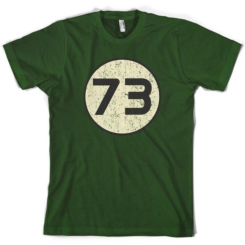 73 Logo T-Shirt by Dressdown in The Big Bang Theory - Season 9 Episode 22