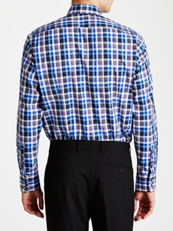 Lucas Plaid Shirt by HUGO BOSS in Pitch Perfect 2