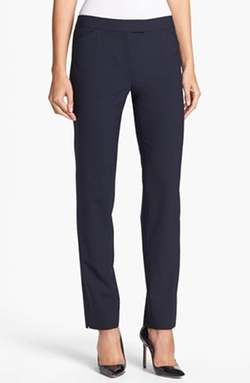 'Irving' Stretch Wool Pants by Lafayette 148 New York in Scandal