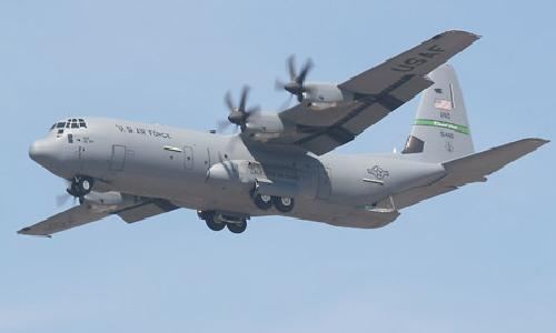 C-130J Super Hercules by Lockheed Martin in X-Men: Days of Future Past
