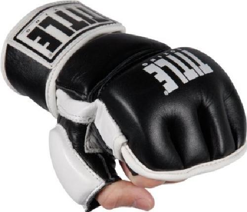 Wristwrap Leather Heavy Bag Gloves by Title Boxing in Sabotage