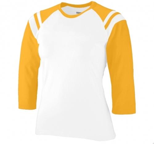 Girls Cotton/Spandex Legacy Shirt by Custom Shirts in Trainwreck