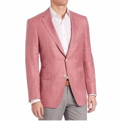 Samuelsohn Herringbone Sportcoat by Saks Fifth Avenue Collection in Ballers