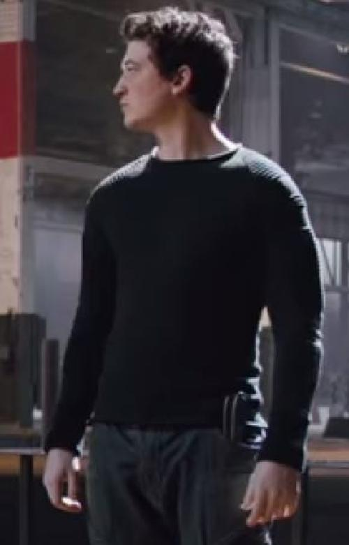 Custom Made Peter 'Dauntless' Sweater by Carlo Poggioli (Costume Designer) in Divergent