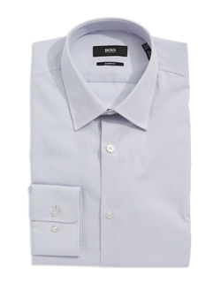 Sharp-Fit Dress Shirt by Hugo Boss in Arrow