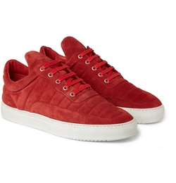 The Low Fuse Suede Sneakers by Filling Pieces in Ballers