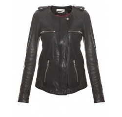 Bacuri Washer Leather Jacket by Isabel Marant Etoile in Now You See Me 2