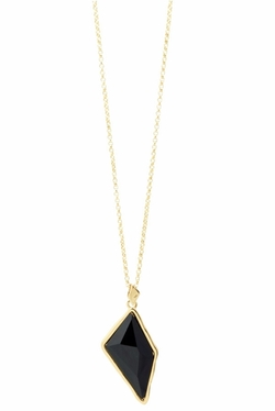 GlamRock Pendant Necklace by Kim Kardashian in She's Funny That Way
