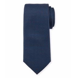 Neat Silk Tie by Boss in Billions
