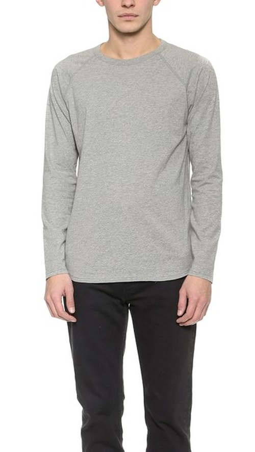 Raglan T-Shirt by Reigning Champ in Maze Runner: The Scorch Trials
