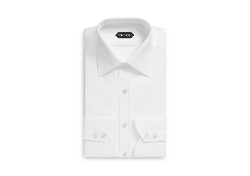 Classic Fit Classic Collar Barrel Cuff Shirt by Tom Ford in Furious 7