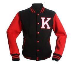 Varsity Letterman Cotton Jacket by Stylistark in Scream Queens