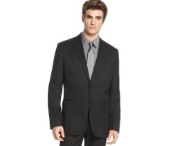 Core Slim Fit Two Button Blazer by Calvin Klein in If I Stay