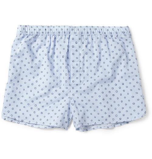 ARLO COTTON BOXER SHORTS by DEREK ROSE in Walk of Shame