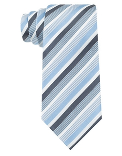 Silk Franklin Stripe Tie by Kenneth Cole New York in Need for Speed
