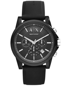 Chronograph Silicone Strap Watch by Armani Exchange in xXx: Return of Xander Cage