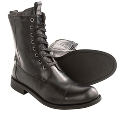 Strum Combat Zip Boots by John Varvatos in Barely Lethal