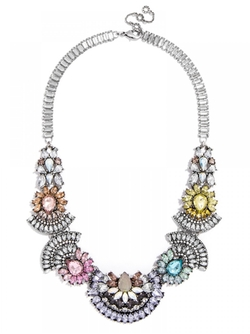 Frank Bib Necklace by Baublebar in Scream Queens