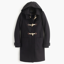 Wool Melton Toggle Coat by J. Crew in The Women