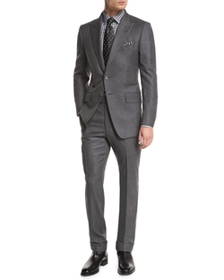 O'Connor Base Mini-Textured Two-Piece Suit by Tom Ford in Suits