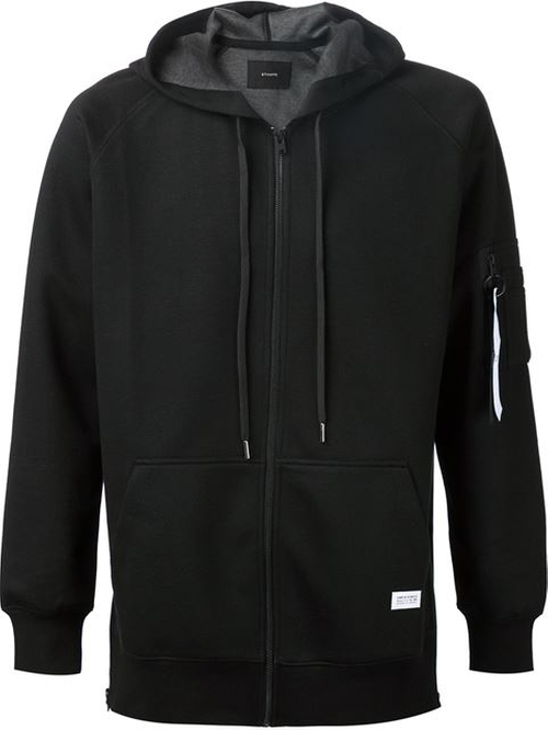 Zipped Hoodie Jacket by Stampd in Point Break