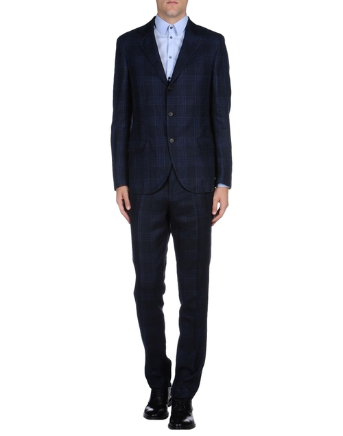 Flannel Two Piece Suit by Brnello Cucinelli in Suits