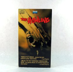 The Howling Horror VHS by The Howling in While We're Young