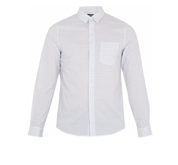 Sportswear Micro-Checked Cotton Shirt by A.P.C. in Molly's Game