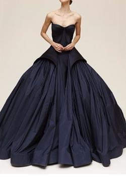 Resort 2015 Midnight Duchesse and Taffeta Gown (Modified) by Zac Posen in Zoolander 2