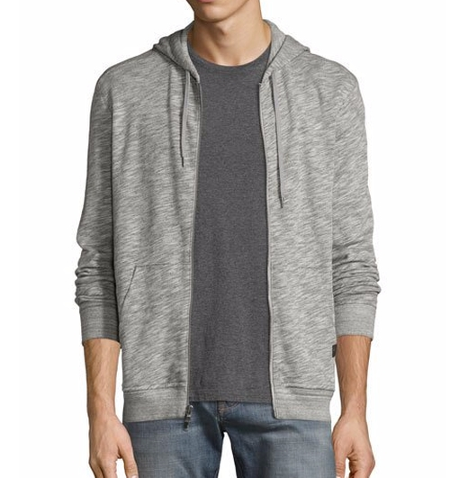 Slub Terry Zip-Front Hoodie by John Varvatos Star USA in Marvel's Iron Fist - Season 1 Preview