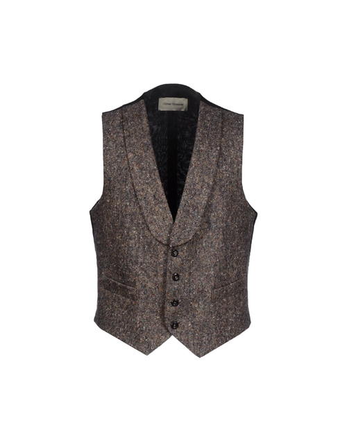 Tweed Vest by Oliver Spencer in Victor Frankenstein