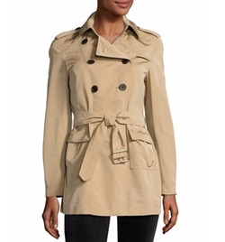 Risebrook Short Trenchcoat by Burberry in Pretty Little Liars