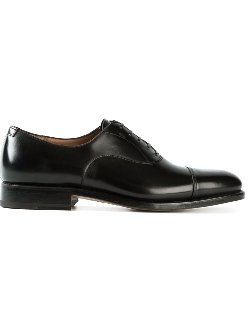 Serrated Seam Oxford Shoes by Salvatore Ferragamo in The Man from U.N.C.L.E.