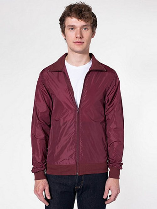 Nylon Taffeta Windbreaker Jacket by American Apparel in Need for Speed