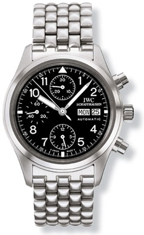 Spitfire Chronograph 3706 Watch by IWC in Mr. & Mrs. Smith