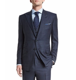 O'Connor Base Prince Of Wales Suit by Tom Ford in Suits