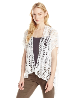 Crochet Shrug With Fringe Detail by RD Style in She's The Man