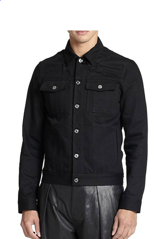Denim Jacket by Givenchy  in The Departed