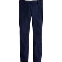 Navy Sequin Accent Ankle Length Pants by J. Crew in Pitch Perfect 2