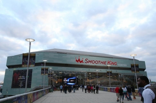 Smoothie King Center New Orleans, Louisiana in Daddy's Home