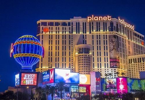 Planet Hollywood Resort & Casino Las Vegas, Nevada in Jason Bourne