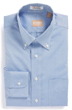 Oxford Button Down Dress Shirt by Gitman in Confessions of a Shopaholic