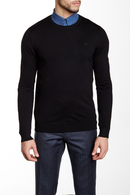 Crew Neck Wool Sweater by Moods of Norway in Arrow