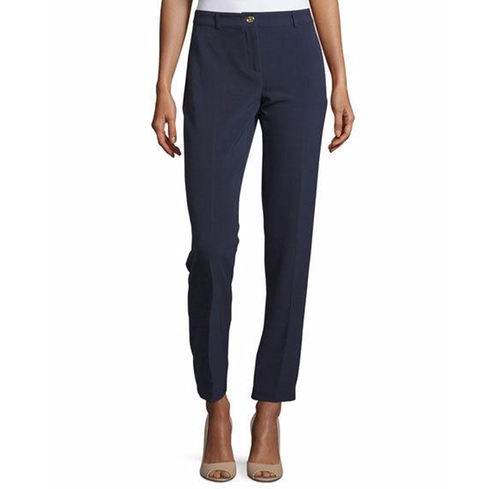 Straight-Leg Career Pants by MICHAEL Michael Kors in The Boss
