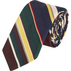 Multicolored Mixed-Stripe Pattern Neck Tie by Thom Browne in Lee Daniels' The Butler