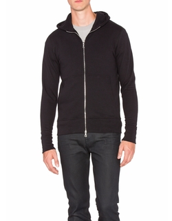 Flash Dual Full Zip Hoodie by John Elliott in Power